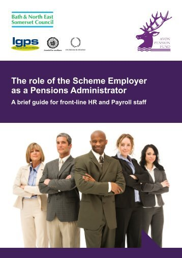 The role of the Scheme Employer as a Pensions Administrator