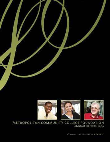 Metropolitan CoMMunity College Foundation