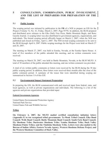 Chapter 5 - Bureau of Land Management