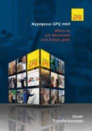 Mypegasus GPQ mbH  Wenn es um Menschen und Arbeit geht ...