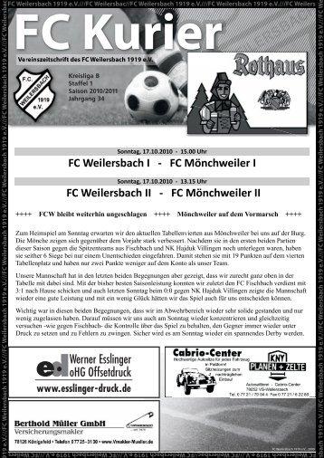 Kurier06_10.pdf - FC Weilersbach