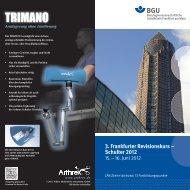 3. Frankfurter Revisionskurs – Schulter 2012 - ATOS Klinik Heidelberg