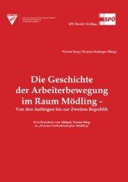 Geschichte der Arbeiterbewegung - Unser Bezirk Mödling