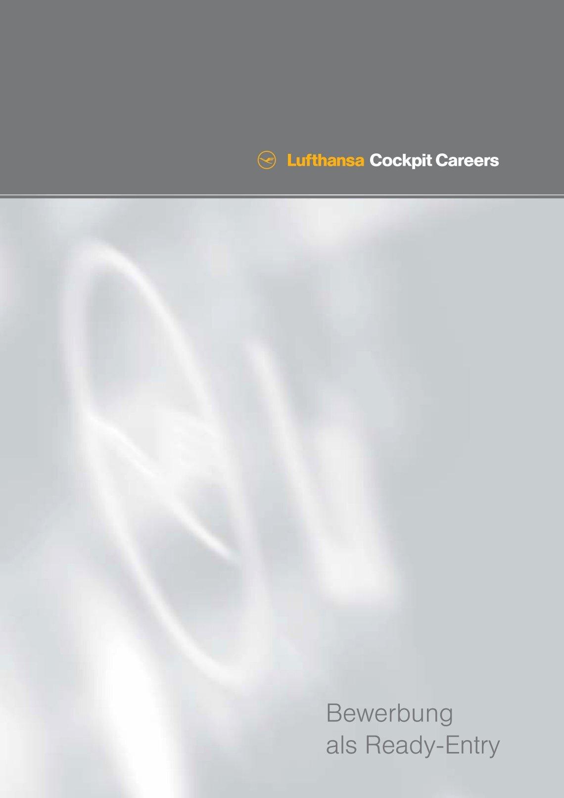 lufthansapilotde - Bewerbung Lufthansa