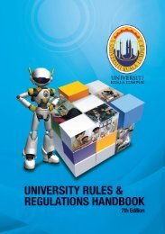 UNIVERSITY RULES AND REGULATIONS HANDBOOK