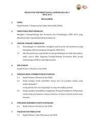 (SSUK). - mitec - Universiti Kuala Lumpur