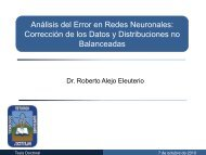 Análisis del Error en Redes Neuronales: Corrección de los Datos y ...