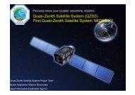 First Quasi-Zenith Satellite System 'MICHIBIKI' - Apcon Aero Space ...