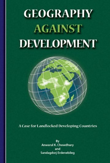 Geography Against Development • Case for Landlocked ... - OHRLLS
