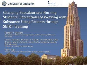 "Gotham, Heather. ""Changing Baccalaureate Nursing Student's ..."