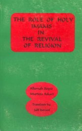 The Role Of Holy Imams (a.s) In The Revival Of Religion