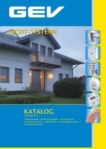 GEV Licht-Systeme Katalog 2011