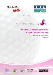 17. GMVD Fortbildungsseminar & 5. GMVD Business Golf-Cup vom ...