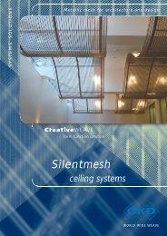 Brochure Silentmesh ceiling systems - GKD - Gebr. Kufferath AG