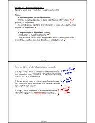 June 6 Class Notes