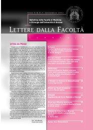 LETTERE 2002 09.pdf - Facoltà di Medicina e Chirurgia