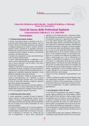 LETTERE facolta_11 - Facoltà di Medicina e Chirurgia - Università ...