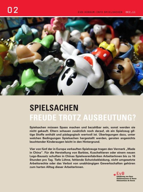 Konsuminfo Spielwaren