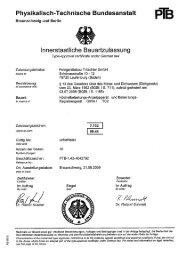 PTB-Zulassung für Messwertspeicher - FTL Tritschler Elektronik+ ...