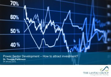 Power Sector Development – How to attract investment?