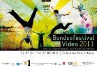 Video der Generatione - Stadt Gera