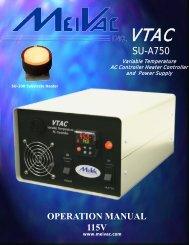 VTAC Manual – 115V