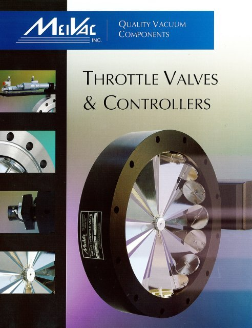 MeiVac Throttle Valves and Controllers Brochure