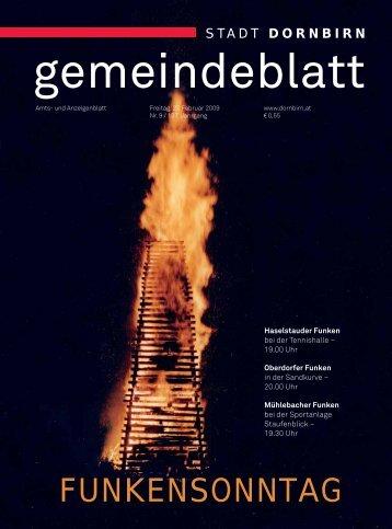Dornbirner Gemeindeblatt KW 09 vom 27.02.2009