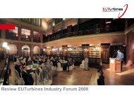 Review EUTurbines Industry Forum 2008