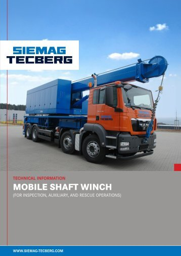 Mobile Shaft Winch