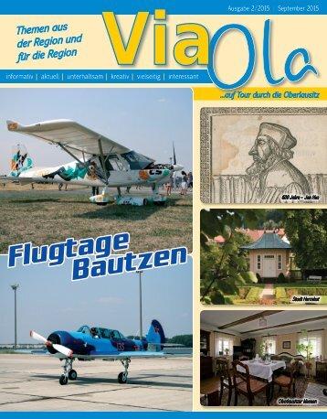 ViaOla - Das Magazin, Ausgabe 2/2015