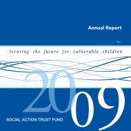 Annual Report 2009 - SATF
