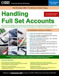 Handling Full Set Accounts