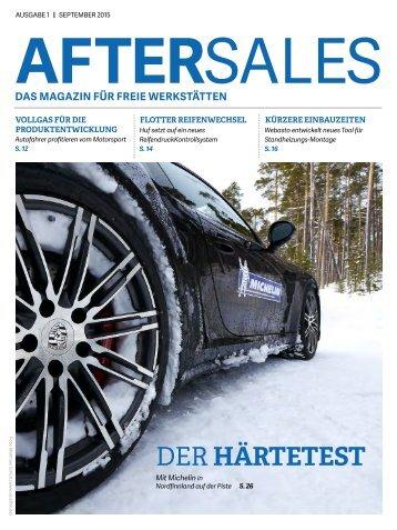 AfterSales – Das Magazin für freie Werkstätten