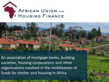 Download - African Union for housing finance