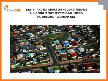 Download this Speaker's Presentation - African Union for housing ...