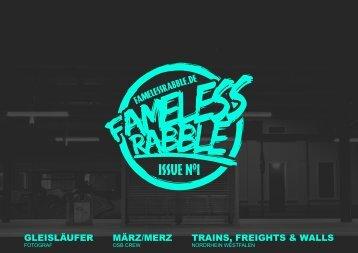 """Fameless Rabble"" Magazin Issue No1 2015"