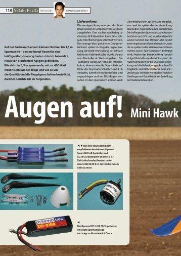Mini Hawk von Staufenbie - Staufenbiel