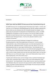 Die vollständige Pressemitteilung zum ZDF-Besuch lesen Sie