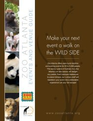 event a walk on the WILD SIDE