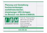 PDF [2,5 MB] - bei der IBH IT-Service GmbH