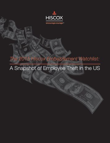 A Snapshot of Employee Theft in the US