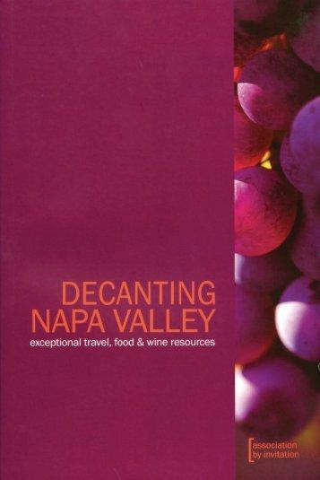 Decanting Napa Valley - Viader
