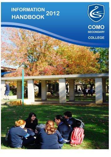 HANDBOOK - Como.wa.edu.au