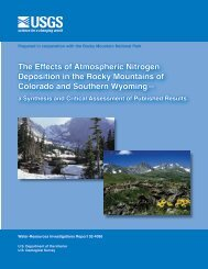 The Effects of Atmospheric Nitrogen Deposition - New York Water ...