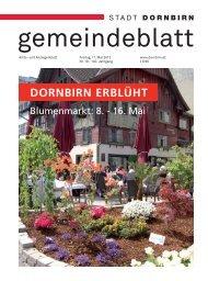Dornbirner Gemeindeblatt KW 19 vom 11.05.2012
