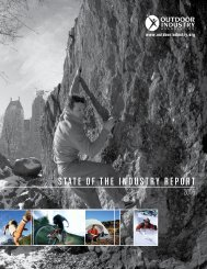 STATE OF THE INDUSTRM REPORT - Outdoor Industry Association