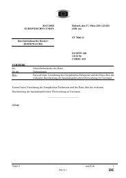 7846/11 msCF/ib 1 DG G 1 RAT DER EUROPÄISCHEN UNION ...