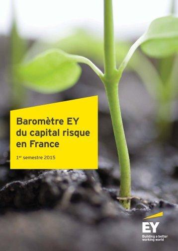 Baromètre EY du capital risque en France