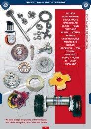 DRIVE TRAIN AND STEERING - Lehner Industriemaschinen
